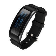 2016 El Más Nuevo Estilo de Negocios de Lujo Bluetooth Inteligente Reloj Pulsera Banda de Fitness Nadar Calorías Monitor Del Ritmo Cardíaco Para IOS Android