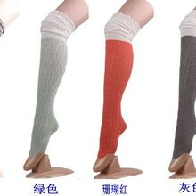 Women stockings Knitted Boot Cuffs Toppers Boot Socks leg warmers Crochet booty Gaiters 8 colors 15pairs/lot #3918
