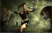 Tomb Raider Lara Croft Sexy Girl Hot Game Art SILK POSTER Decorative Wall paint 24x36inch