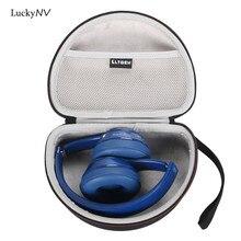 LuckyNV чехол для хранения Жесткий EVA сумка для Beats by Dr. Dre Solo2/Solo3 Наушники гарнитуры наушники для переноски Обложка чехол коробка