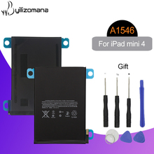 YILIZOMANA Battery for Apple iPad Mini 4 A1546 A1538 A1550 5124mAh Replacement Lithium Polymer Tablet Bateria with Tools