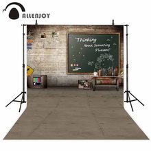 Allenjoy fundos para fotografia estúdio blackboard livros fundo foto fundos fotograficos frete grátis photocall