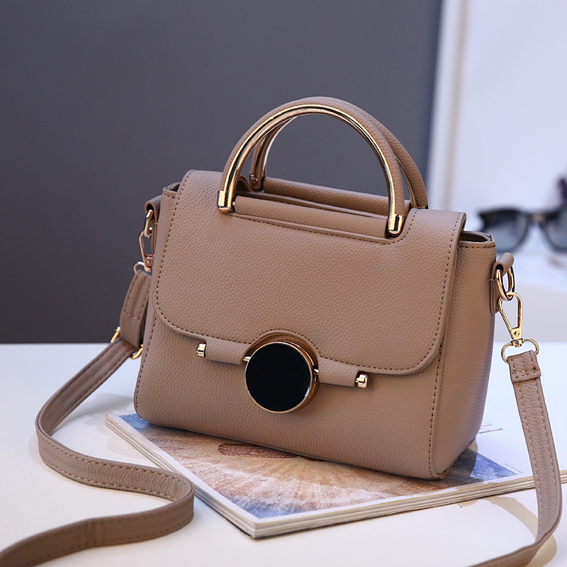 LUCDO Brand Women Bags PU Leather Handbag Women Crossbody Messenger Bag Mini Shoulder Bag For Teenager Girls With Sequined Lock