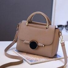 Handbag Women Bags Shoulder-Bag Crossbody Teenager-Girls with PU Sequined Lock LUCDO