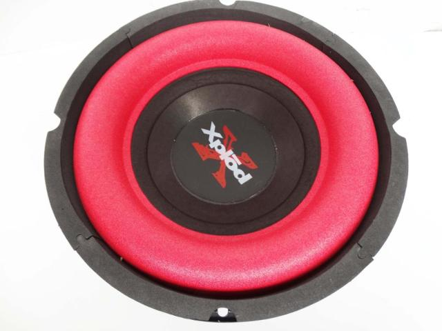 8 inch woofer home / car subwoofer red bubble width side stroke 100 magnetic Basin
