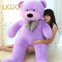 LKDCY//100CM Tuba Cute Bowknot Teddy bear plush toy bear doll size pillow birthday to send his girlfriend a children's Day Gift