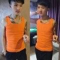Espíritu Sin Mangas Apretada Camiseta Para Hombre Atractivo Mundo De Tank Top Para Hombre Ropa Culturismo Gimnasio Bodybuilding Singlet Tank Tops
