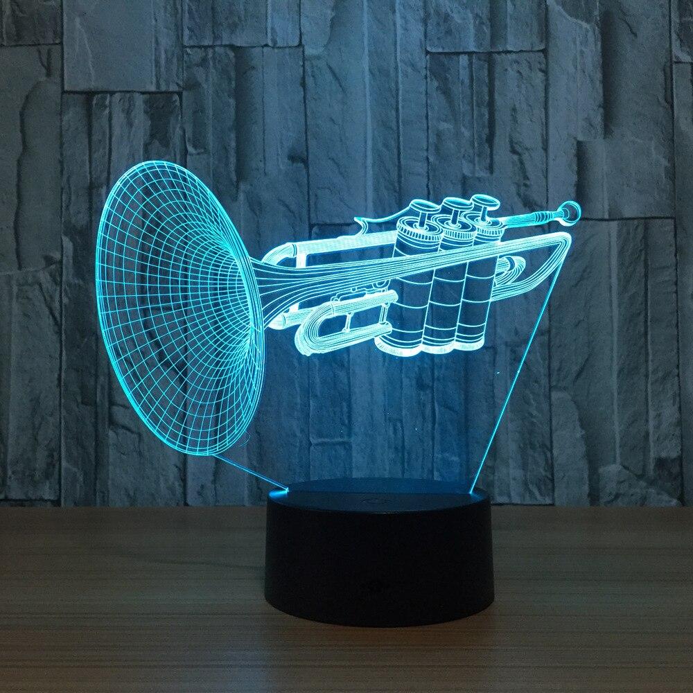 3d Led Table Lamp