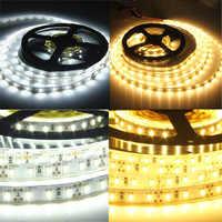 Lumière de bande de LED DC12V 5630 5 m/roll 300 LED 5730 lumière de barre flexible Non-imperméable/imperméable à l'eau lumière d'intérieur de décoration de maison