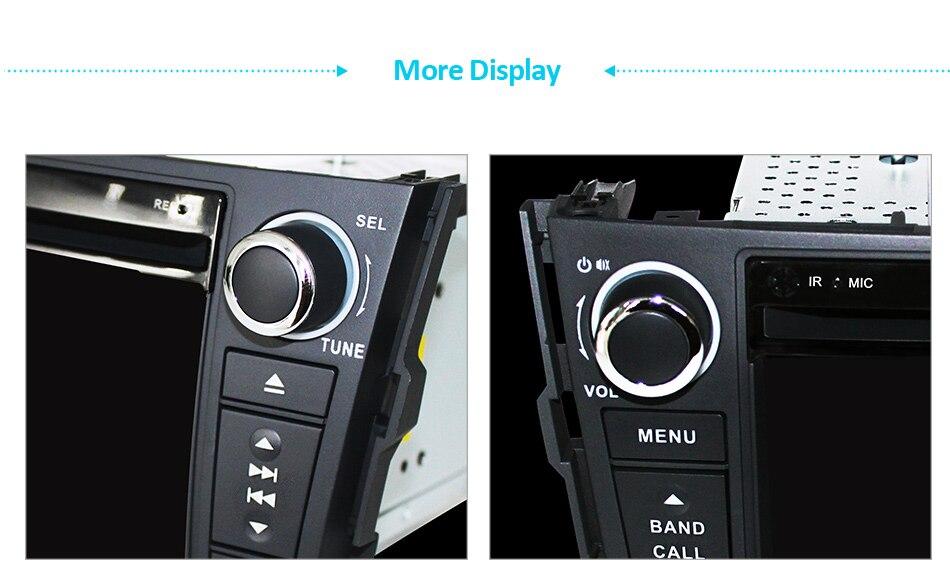 Cheap Eunavi Car DVD Player 2Din Car Radio For Toyota RAV4 2006 2007 2008 2009 2010 Steering Wheel control Touch screen GPS Navigation 22