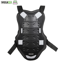 WOSAWE Back Support Chest Protect MTB Mountain Bike Cycling