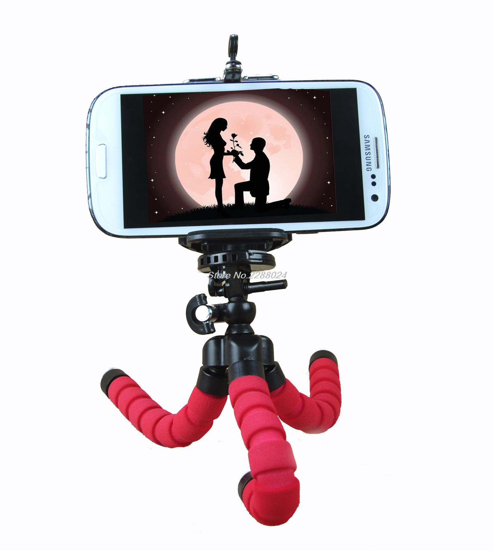 Hot Sale Car Phone Holder Flexible Octopus Tripod For Nokia Lumia 520 610 620 625 630 710 800 830 920 925 X2 XL Cases Gel Shell