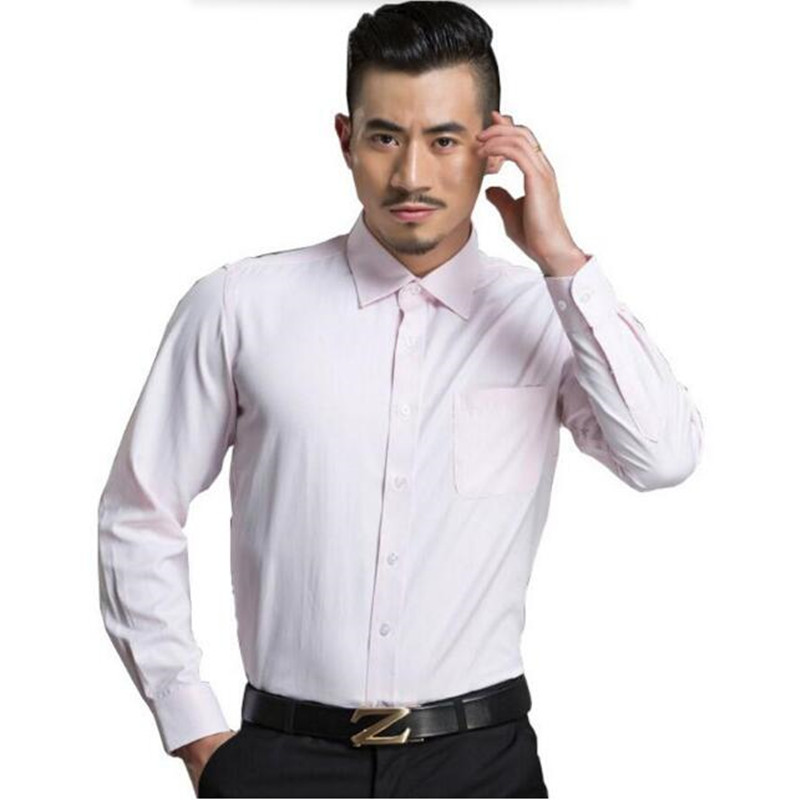 high quality custom Mens Fashion Clothing Casual Shirts Long Sleeve Work Wear Business Formal occasion Shirts
