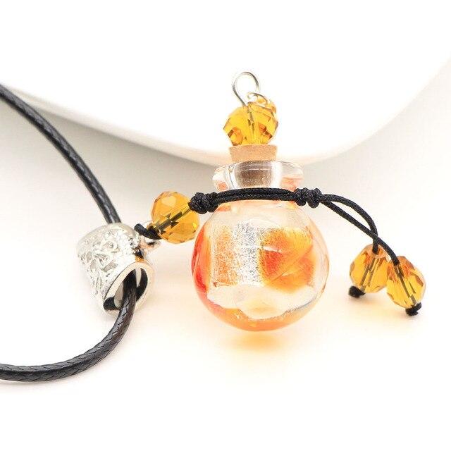 Ожерелья и подвески с бутылочкой эфирного масла ароматический