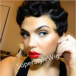 New short black curly wig afro african american wigs for black women star fashion synthetic hair.jpg 250x250