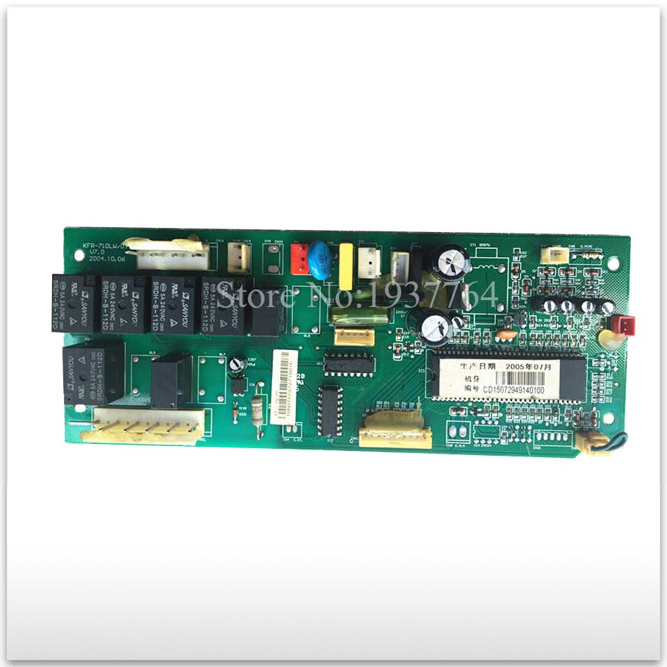 95% new for Air conditioning computer board circuit board KFR-71DLW/DY-1 KFR-120Q/SDY(A) board good working indoor air conditioning parts mpu kfr 35gw dy t1 computer board kfr 35gw dy t used disassemble