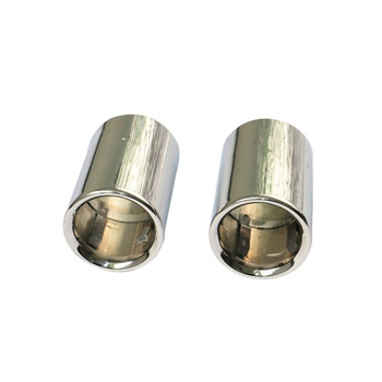 1set Stainless Steel 304 Original Car Exhaust Tips Muffler For BMW X1 Free Shipping