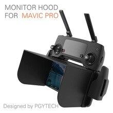 PGYTECH monitor hood series for DJI mavic pro Phantom 4 pro RC monitor inspire M600 osmo products Sunshade Phone Sun fpv parts