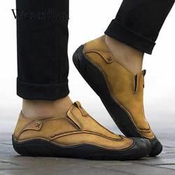 dd7b22f4346f7 Sneakers Homens Mocassin Homme Masculino Flats Slip-on Mocassins Mens Sapatos  Casuais Formal Preto Sapatos