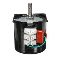 AC 220V 2.5RPM High Torque Gear Box Electric Synchronous Gear Motor