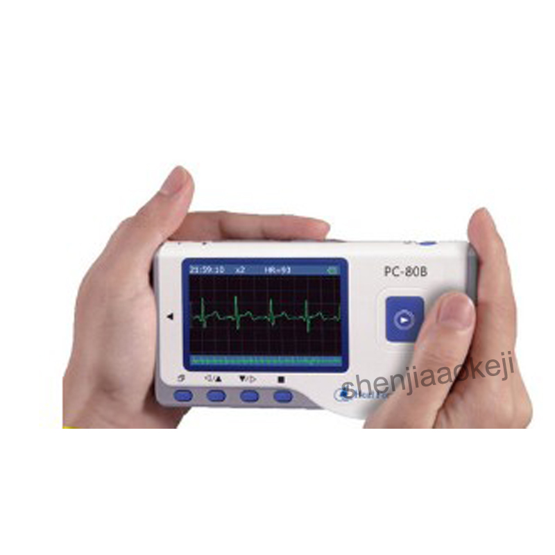 Rapid Measurement Of Electrocardiogram Home Cardiac Monitoring Of Heart Rhythm Electrocardiogram Dynamic Monitoring Recorder 1pc