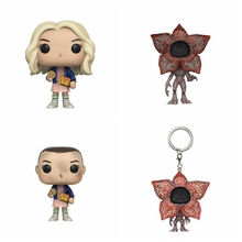 The Stranger Things Eleven With EGGOS Figure Toy Doll Color box elsadou stranger things vinyl action figure and keychain