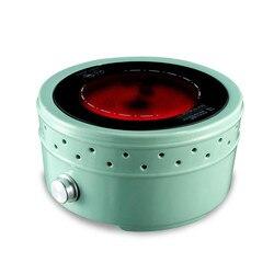 Hot Plates Mini silent electric ceramic furnace tea stove household glass bubble pot boiling equipment non - electromagn