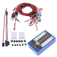 Wholesale G T POWER RC Car 12 LED Flashing Light System For RC Cars Smart PPM