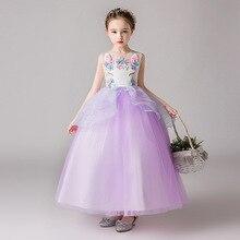 12862e0d8d Wykwintne 2019 dla dzieci dziewczyny jednorożec Tutu sukienka na przyjęcie  urodzinowe nastolatków lato księżniczka sukienki dzieci