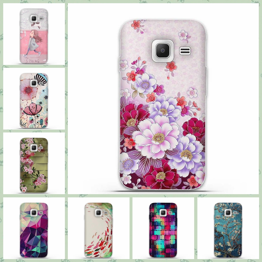 Soft TPU Skin Shell Case for Samsung Galaxy J1 Mini 2016 J105 J105H J105F 3D Printed Cases for Samsung J1 Nxt Duos Silicon Cover