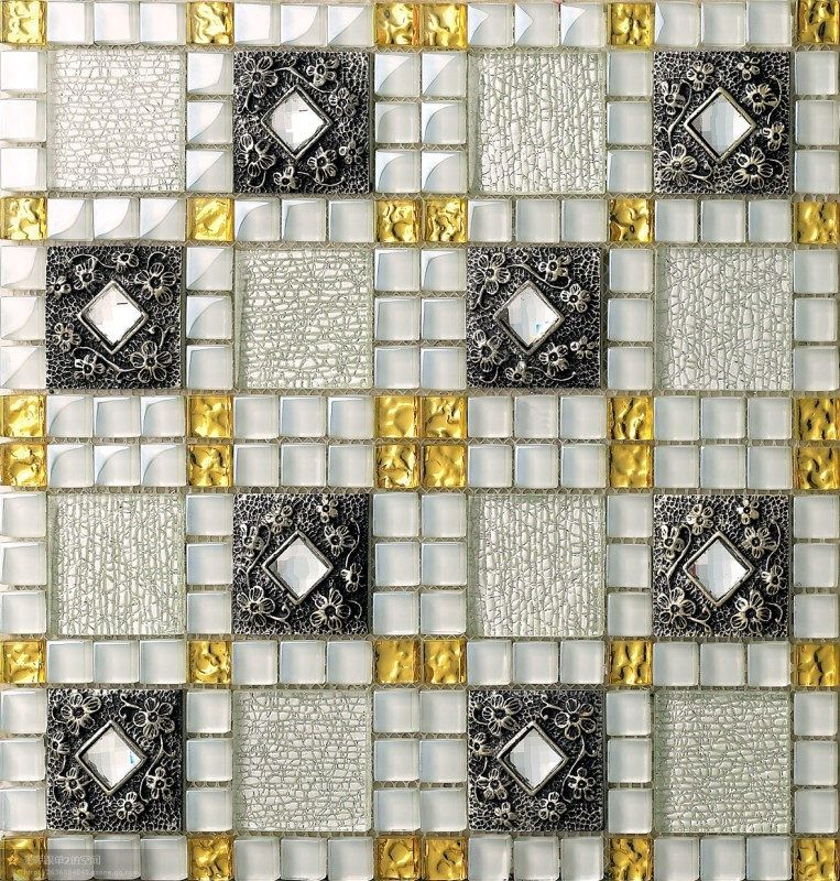 new arrival crystal glass mosaic tiles resin embossing flower carving design art tile home hotel wall diamond deco backsplash on aliexpresscom alibaba