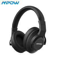 Mpow H12 Active Noise Cancelling Bluetooth Headphones ANC Wireless Wired 2 in 1 Headset With Mic For PC TV MP3 MP4 iPhone Huawei