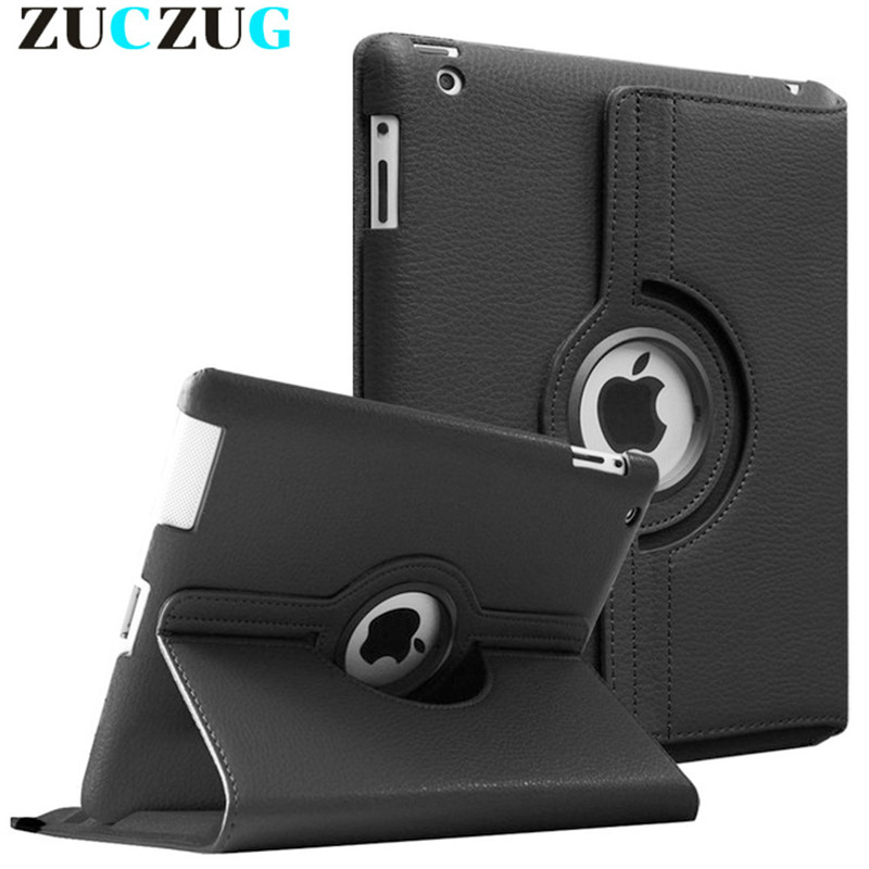 Flip PU Stand Case For Apple iPad mini 1 2 3 Tablet Case Cover for Apple iPad mini 4 360 Degree Rotation Case for Ipad mini 2