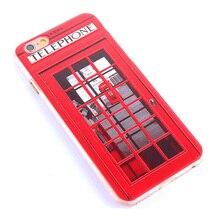 Sherlock Holmes & London Telephone Phone Case iPhone 4s 5s 6 6 plus