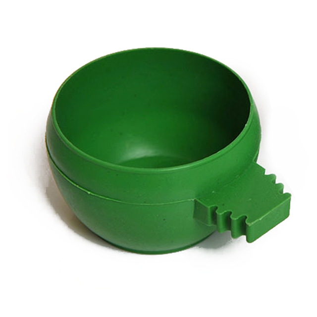 Lovely Parrot Aviary Pet Cage Plastic Round Bird  Water Food Feeder Feeding Bowl With High Quality