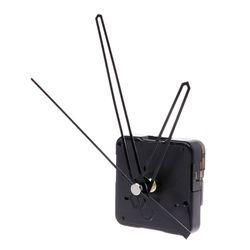 Quartz Clock Movement Mechanism Hands Wall Repair Tool Parts Silent Kit Set DIY Black Pointer 39