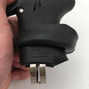 Image 4 - Shimano Sora ST 2200 STI Shifters Kolu Fren 2200 Shifter w/Vites Kablosu Sol Çift/Üçlü 2203 Sol Shifter sadece