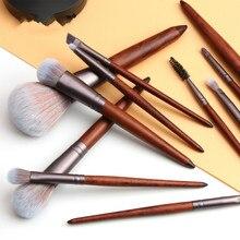 Manufacturers Low-cost Direct Sales 11 Animal Hair Makeup Brush Set Beauty Tool