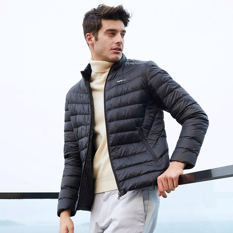 Tanboer Männer Unten Jacken Neue Ankunft Ultra Licht Unten Mantel Warme Winter Jacke Wasserdicht Atmungsaktiv Outwear Ta18223 Taille Und Sehnen StäRken Schmuck & Zubehör
