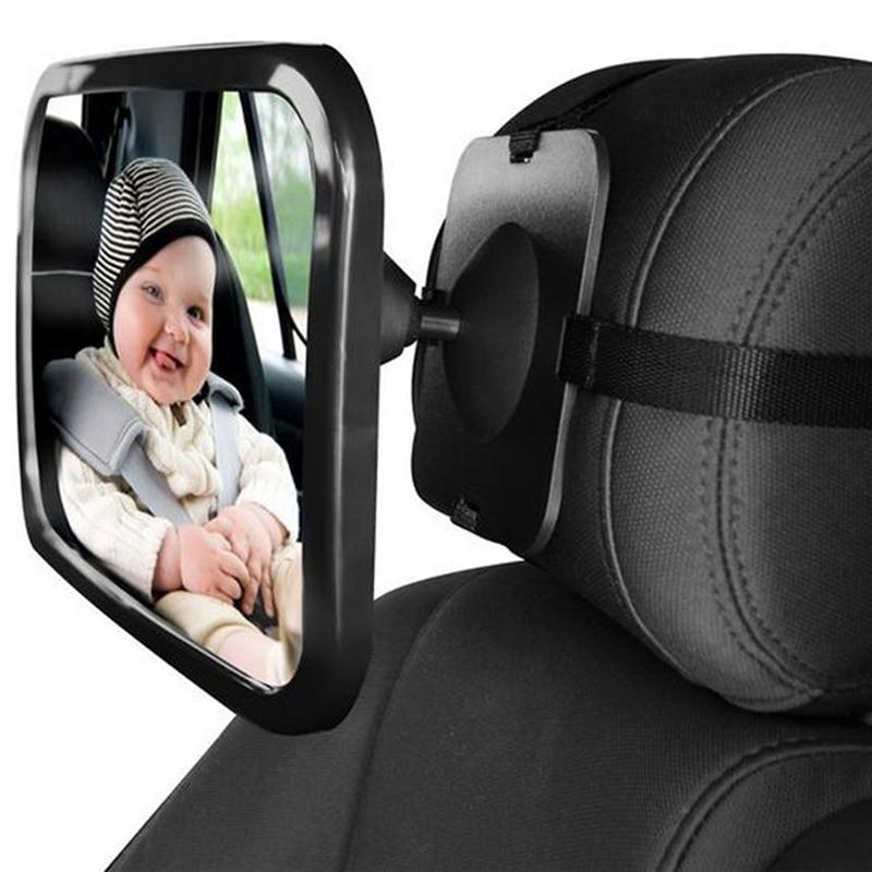 VODOOL Asiento de coche ancho ajustable Espejo retrovisor Asiento de - Autopartes