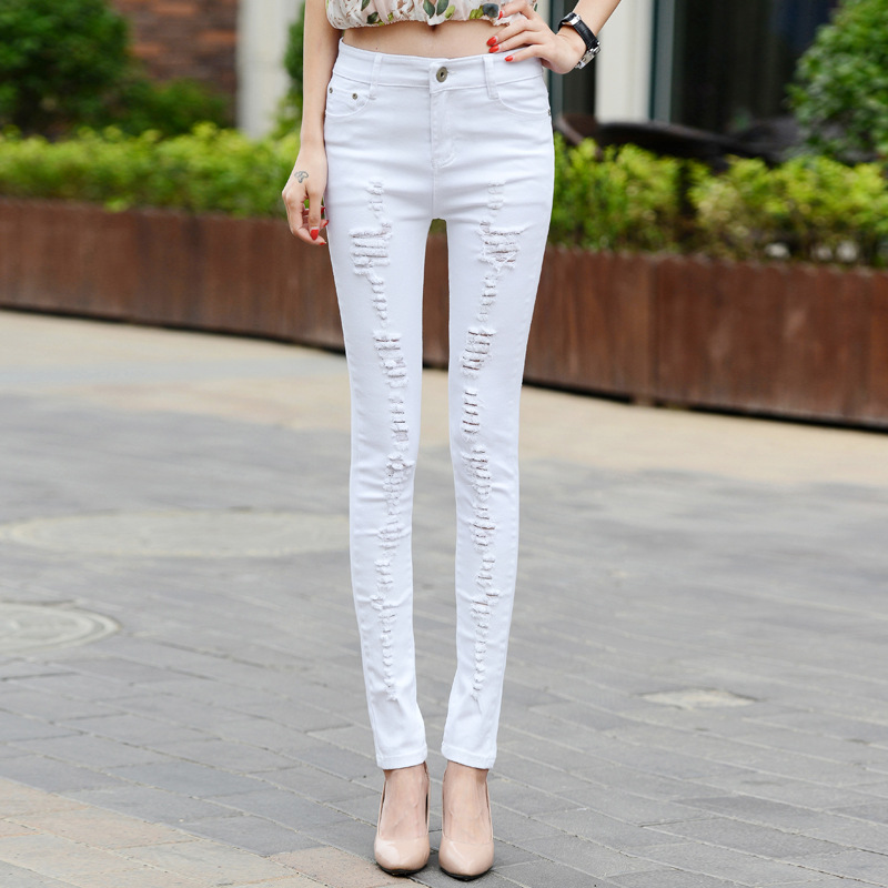 Online Get Cheap Elastic Denim Jeans Girls -Aliexpress.com ...