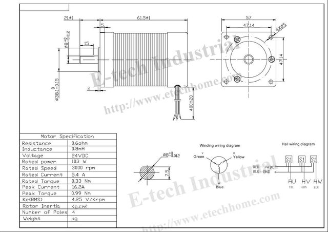 Online Shop High Quality 3Phsse 24V 57 Brushless DC Motor 103W ... on wye motor connection diagram, ac motor diagram, generator wiring diagram, fan wiring diagram, 12 volt actuator wiring diagram, motor control diagram, dc electric motor wiring diagram, brushless dc motors for cars, bodine dc motor wiring diagram, brushless esc wiring, controller wiring diagram, variable frequency drives wiring diagram, ge dc motor wiring diagram, nema 17 wiring diagram, reliance dc motor wiring diagram, dc drives wiring diagram, dc motor schematic diagram, 4 wire dc motor wiring diagram, electric motor winding diagram, brushless motor wiring setup,