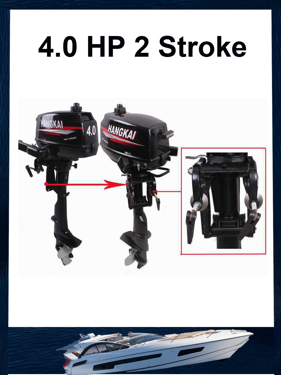 The Most Competitive Price 4 0hp Hangkai 4 9kw 2 Stroke