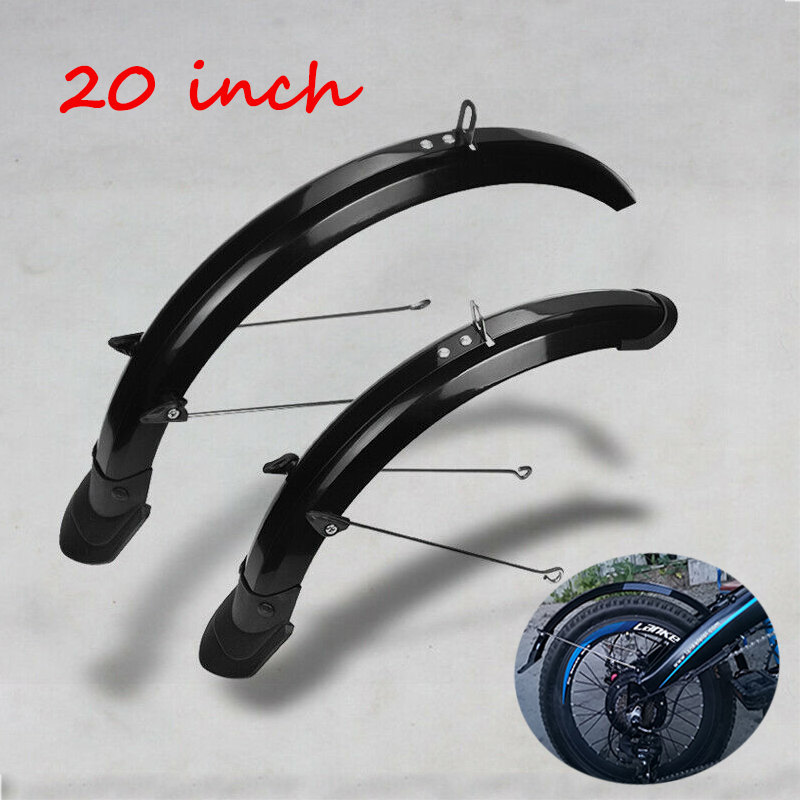 20inch Folding Bike Front Rear Mudguards Fender Cycling Bicycle Mud Guard Sets