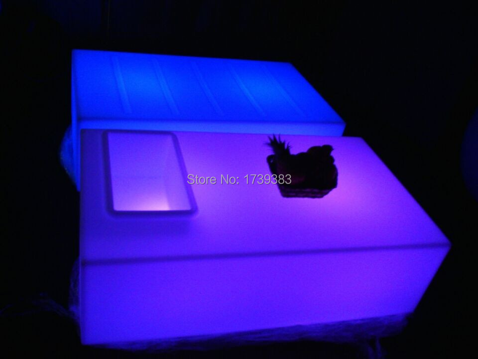 aliexpress koop rechthoek vierkante opening salontafel led