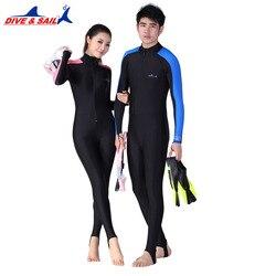 Lycra plongée sous-marine peaux pour hommes ou femmes équipement de plongée en apnée Sports nautiques combinaisons de saut humide combinaison de maillot de bain combinaison de protection contre les éruptions cutanées