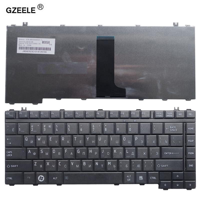 GZEELE Russe Clavier pour Toshiba pour Satellite L331 L322 A203 A205 A210 A215 M207 L300 L332 L201 M320 M327 M322 A300 RU NOUVEAU
