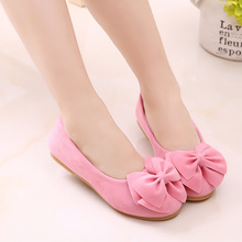 2019 New 5 Colors Kids Leather Shoes Princess Party Girls Ba