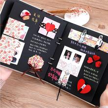 Album with 38 funny cards DIY Creative handmade gift Paste baby photos album Memorial Christmas free shipping