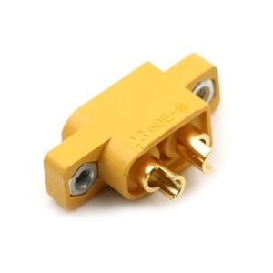 Image 2 - Pieza de repuesto DIY para multicóptero, placa fija, XT60E M amarillo, conector macho XT60 montable para modelos RC
